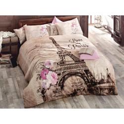 Постельное белье Issimo Home ранфорс - Paris евро