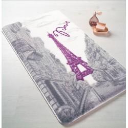 Набор ковриков для ванной Confetti - Paris 01 purple 57*100+50*57см.