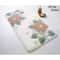 Набор ковриков для ванной Confetti - Petal 01 salmon 57*100+50*57.