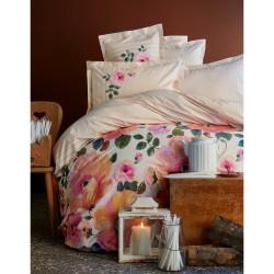 Постельное белье Karaca Home - Flame 2017-1 pink стеганное евро