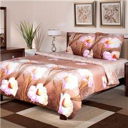 Комплект постельного белья ТЕП - Луиза 942 бязь евро