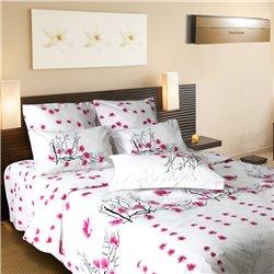 Комплект постельного белья ТЕП - Сакура 907 бязь евро