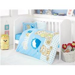Детское постельное белье для младенцев Eponj Home - Yumos Mavi