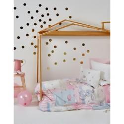 Постельное белье для младенцев Karaca Home - Honey Bunny 2017-1 розовый ранфорс