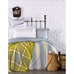 Набор постельное белье с пледом Karaca Home - Mais 2017-1 евро