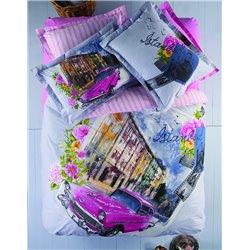 Постельное белье Karaca Home City - Cihangir стеганное евро