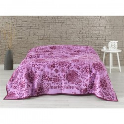 Плед - покрывало Marie Claire - Violet лиловое 150*200