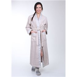 """Халаты """"Mariposa"""" бамбук 100%  длинный кимано"""