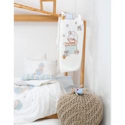 Детский плед в кроватку Karaca Home - Funny Bears 2017-1 100*120