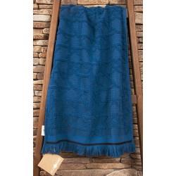 Полотенце махровое Buldans - Selcuk denim 90*150