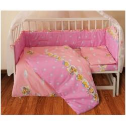 Детское постельное белье для младенцев ТЕП - Медвежонок Розовый