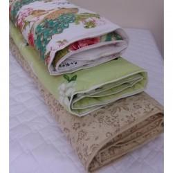 Одеяло детское Вилюта шерстяное в ранфорсе 140*100