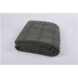 Одеяло шерстяное жаккардовое Vladi - Солдатское 140*205 полуторное