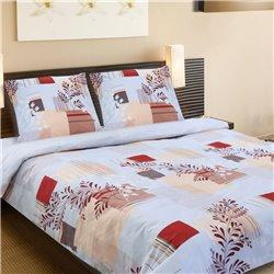 Комплект постельного белья ТЕП - Бизерти 923 бязь евро
