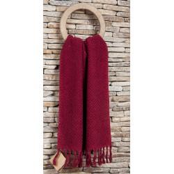 Полотенце махровое Buldans - Cakil burgundy 90*150