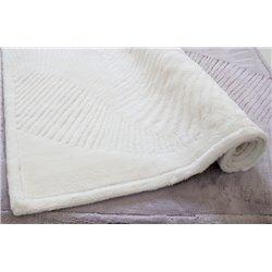 Коврик для ванной Karaca Home - Trend молочный бамбуковый 70*120
