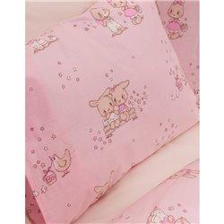 Постельное белье для младенцев Karaca Home - Bunny Friends 2017-1 ранфорс