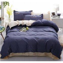 Постельное белье ТЕП Washed Cotton - 003 Blue whale двуспальное