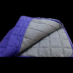 Покрывало Вилюта Дуэт стеганное микрофибра фиолетовый/серый 210*220