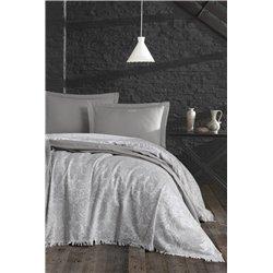 Покрывало Eponj Home Naturel - Porto gri серый 240*260