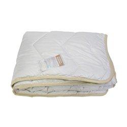 Детское одеяло шерстяное стеганное Vladi - 100*140 кремовое