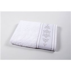 Полотенце Shamrock - Ottoman белое 50*90