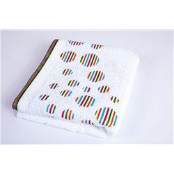 Полотенце Shamrock - Rainbow белое 50*90