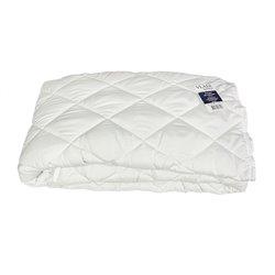 Одеяло антиаллергенное стеганное Vladi - Ромб белое 200*220 евро