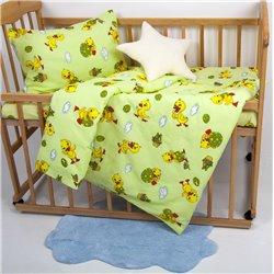 Детское постельное белье для младенцев Lotus ранфорс - NiKi зеленый