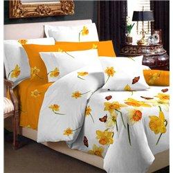 Комплект постельного белья ТЕП - Нарцисс бязь евро