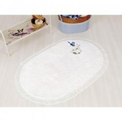 Коврик в ванную Irya - Bird beyaz белый 60*100